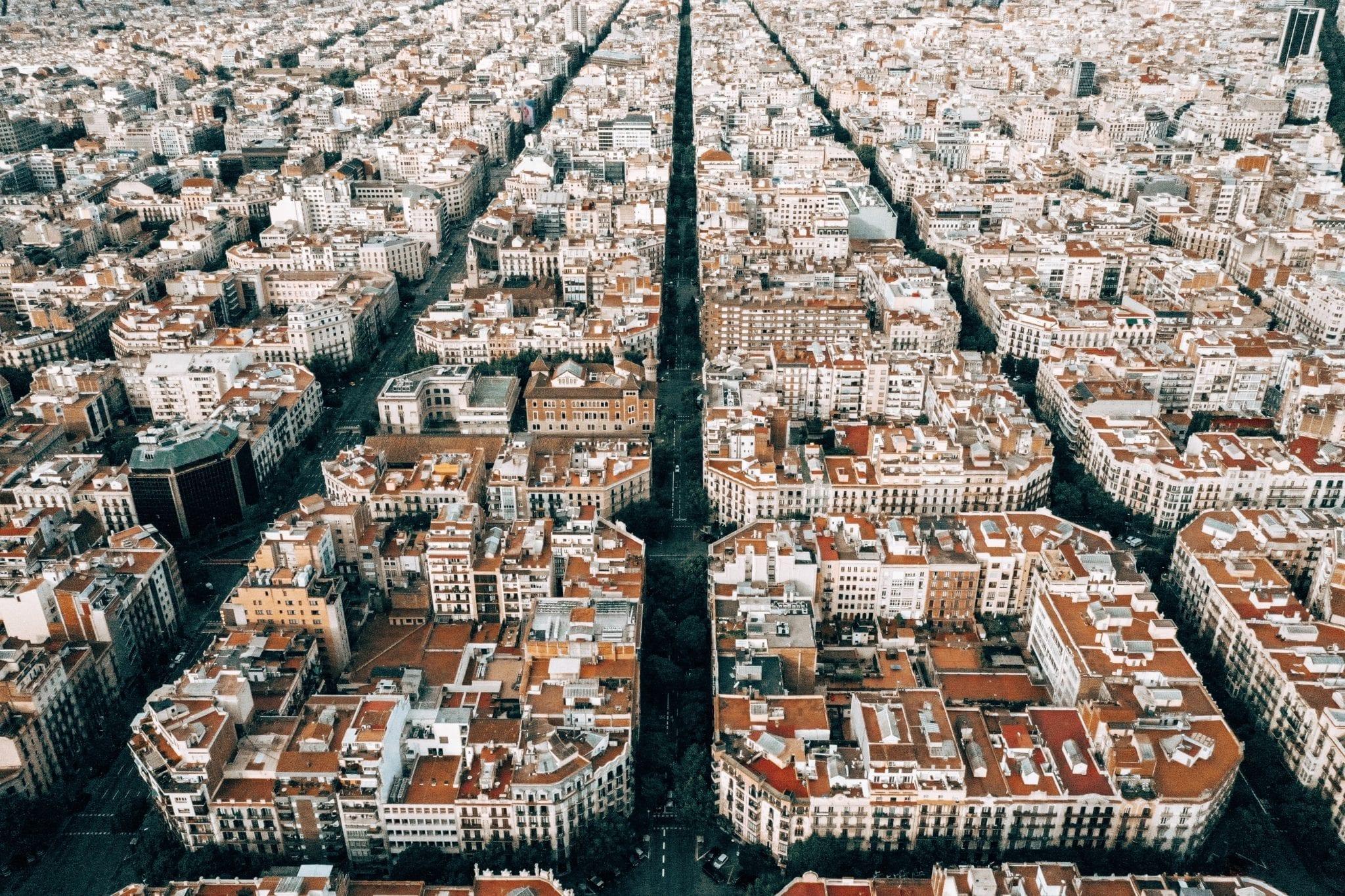 Barcelona Eixample Squares