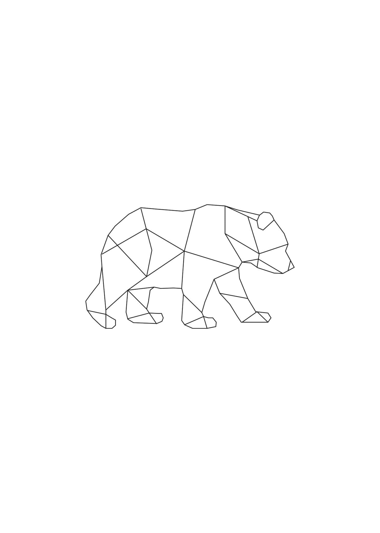 Lined Bear