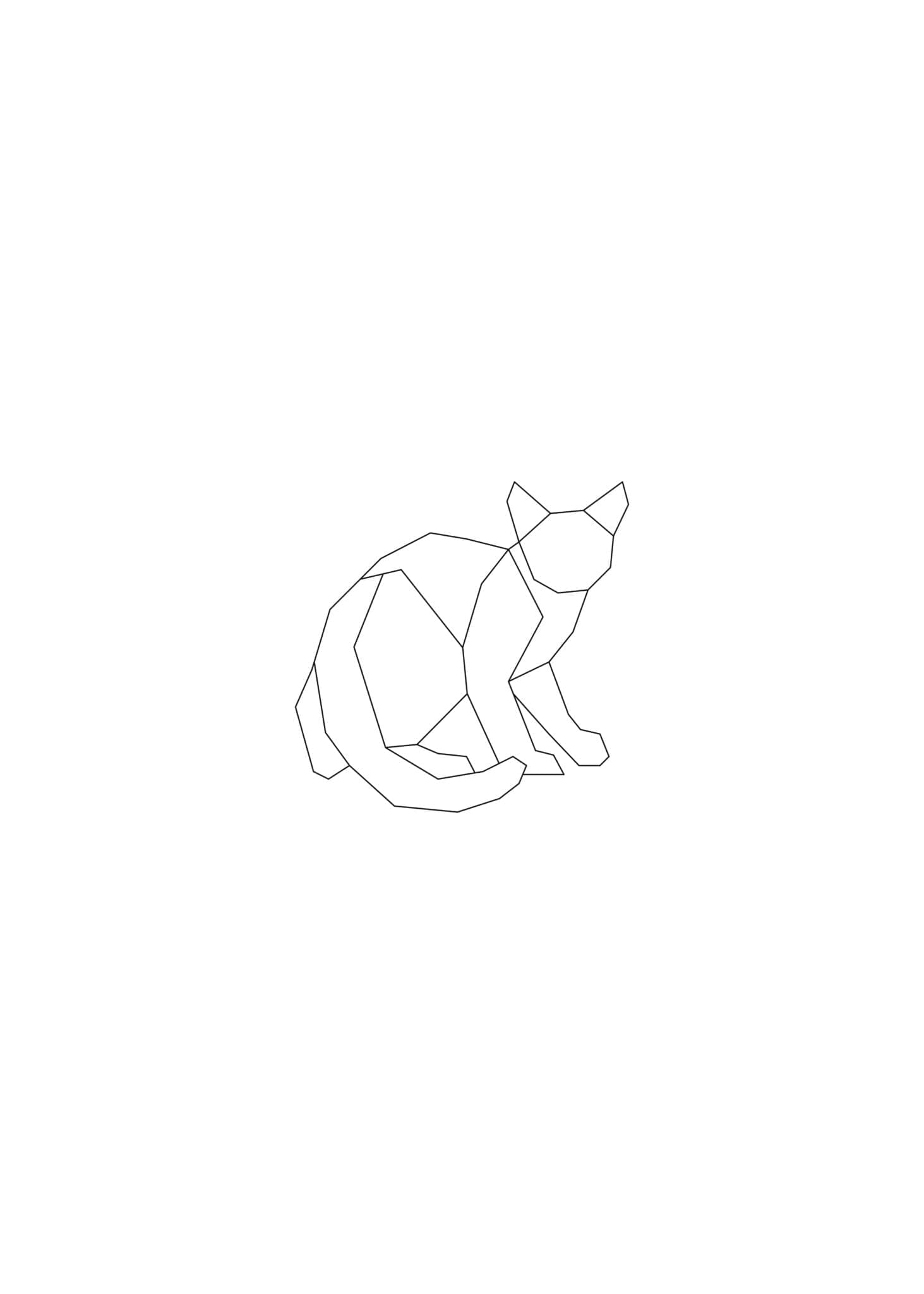 Lined Cat