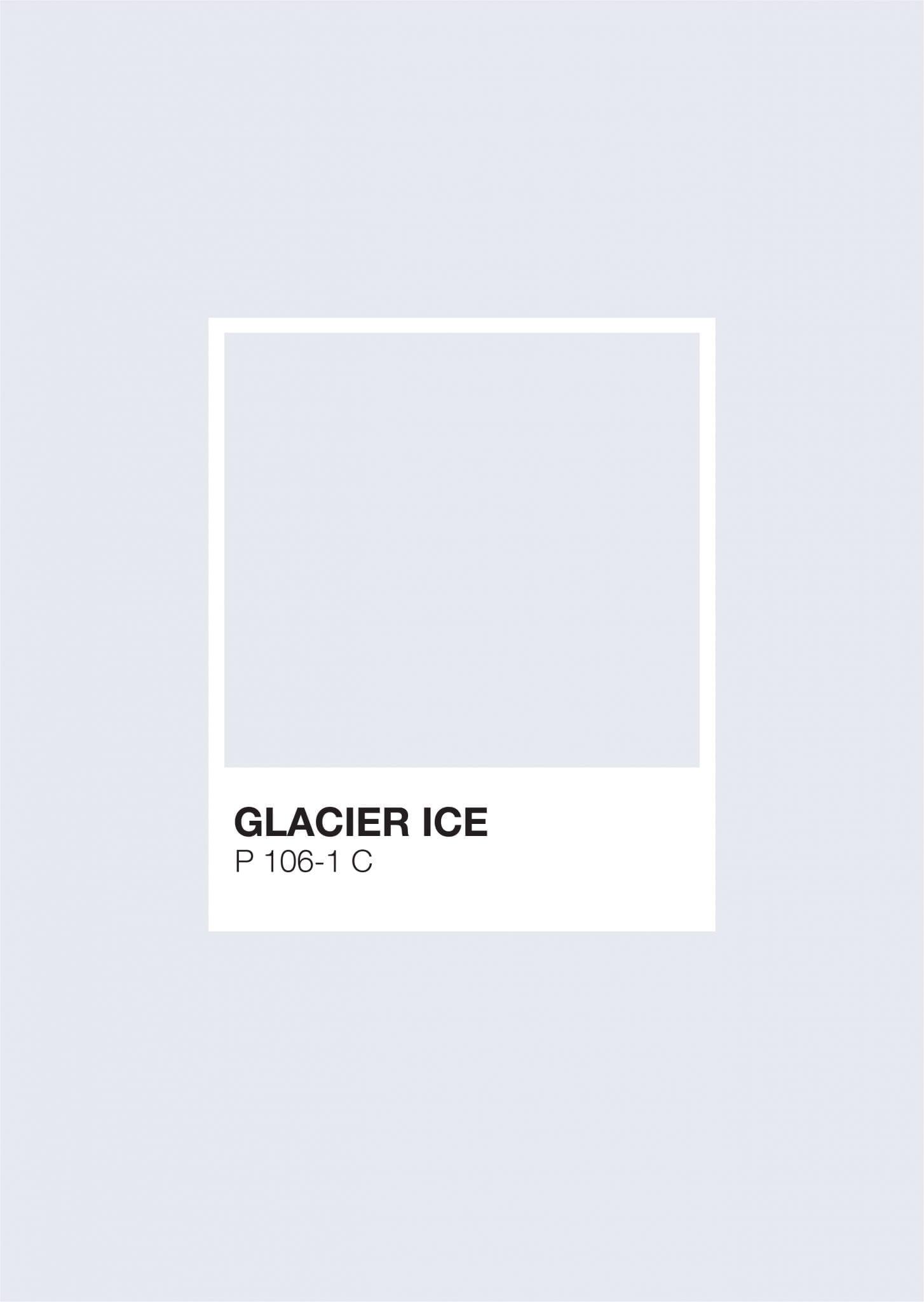 Iceland Pantone: Glacier Ice