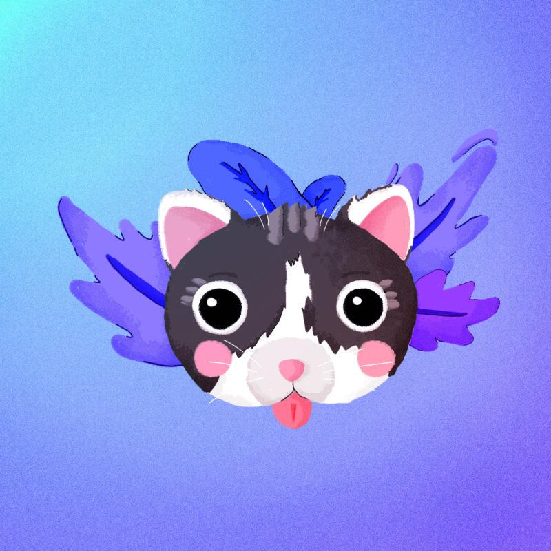 Violet Cat
