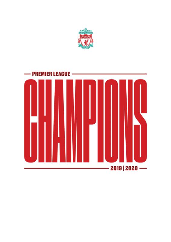Liverpool – Premier League Champions