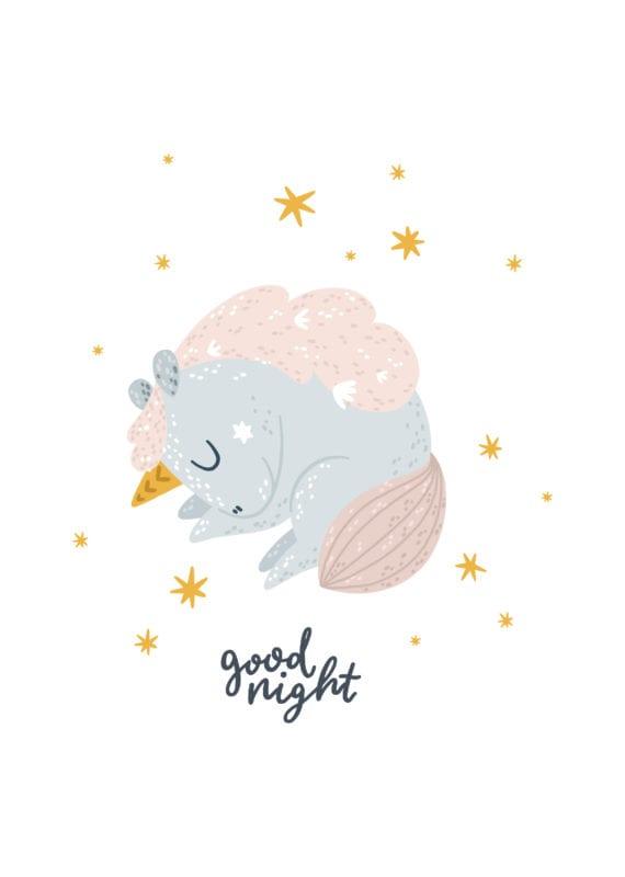 Einhyrningur – good night