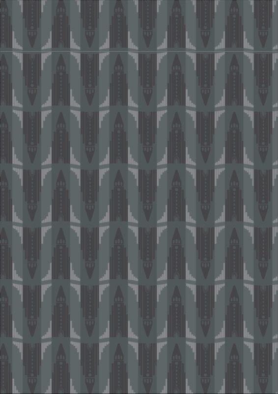 Hallgrímskirkja – svart